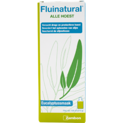 Fluinatural Alle Hoest Siroop - Eucalyptus 158ML