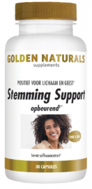 Golden Naturals Stemming Support Capsules 30VCP