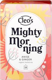 Cleo's Mighty Morning Thee 18ST