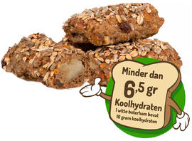 Healthy Bakers Low Carb Spijsbroodjes 3ST
