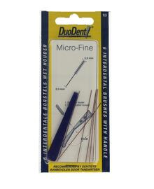 Duodent Rager Micro Fine 0,5 - 2,5 mm Cilindrisch 6ST