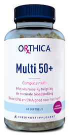Orthica Multi 50+ Softgels 60ST