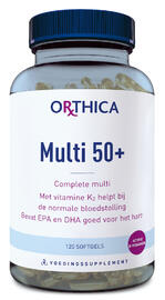 Orthica Multi 50+ Softgels 120ST