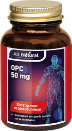 All Natural OPC 50 mg Capsules 48CP