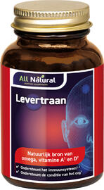 All Natural Levertraan Capsules 100CP