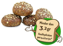 Healthy Bakers Low Carb Bolletjes 4ST