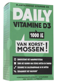 Daily Vitamine D3 1000 IE 100VCP