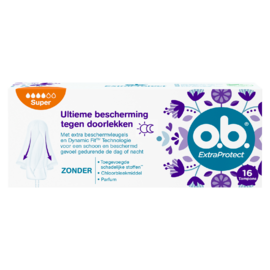 OB ExtraProtect Tampons Super 16ST
