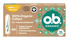 OB Organic Cotton Tampons Normaal 16ST