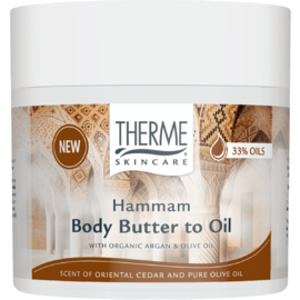 Therme Hammam Body Butter To Oil 225GR