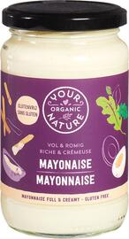 Your Organic Nature Mayonaise vol & romig 370ML