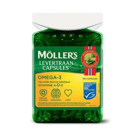 Mollers Levertraan Omega-3 Capsules 160CP