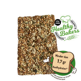 Healthy Bakers Low Carb Crackers 120GR
