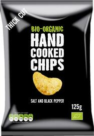 Trafo Hand Cooked Chips Salt and Pepper 125GR